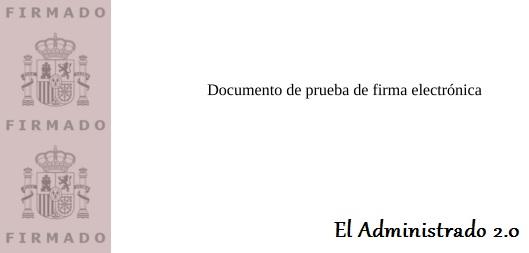 Cómo aparece un documento firmado por VALIDe