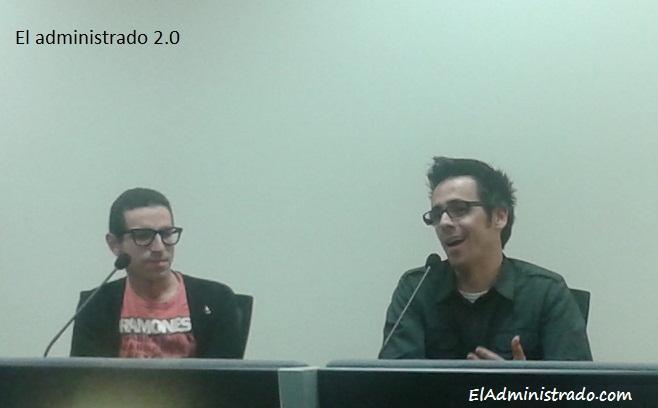 Carlos Caneda y David Van Bylen en SMCant6