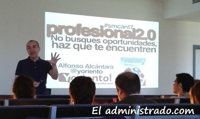 Alfonso Alcántara en SMCant7