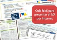 Guía fácil para saber como presentar la declaración del IVA por Internet