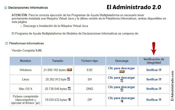 Descarga el programa oficial para realizar las declaraciones tributarias declarativas