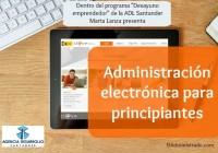 Charla sobre Administración electrónica del 15-05-2015