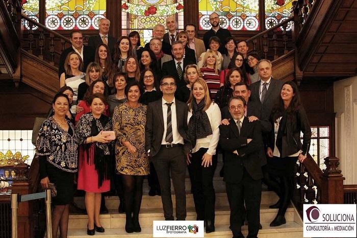 Asistentes y ponentes del Congreso de Mediación y Comunicación Digital